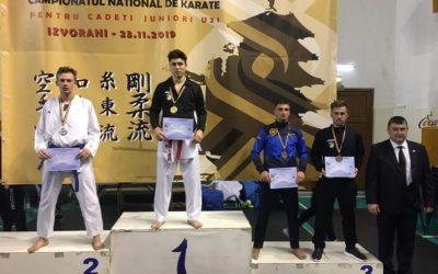 Medalii la Campionatele Naționale Interstiluri