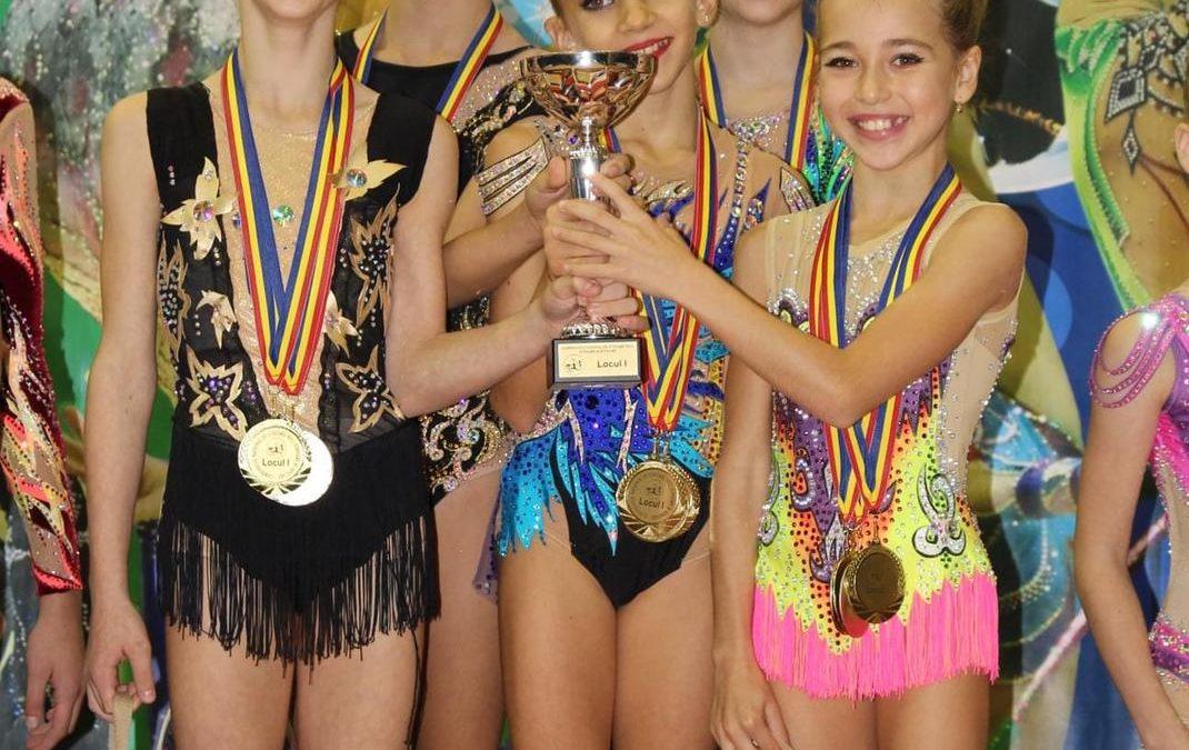 Participare de succes la Naționalele de gimnastică ritmică