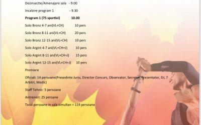Autumn Dance Cup în organizare proprie